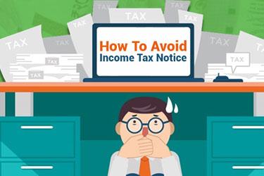 Avoid Tax Notice