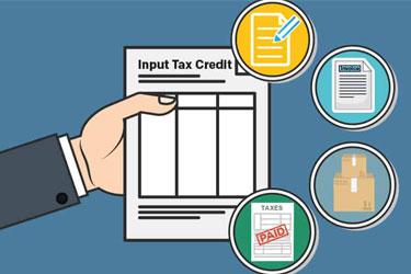 Input tax credit in GST